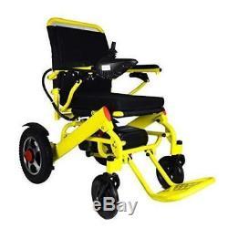 Scooter Électrique Électrique Motorisé De Puissance De Fauteuil Roulant De Pli Léger De Fauteuil Roulant