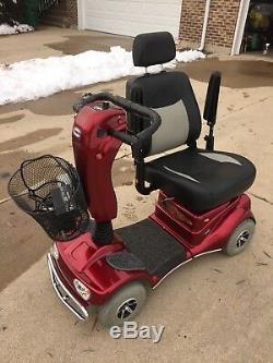 Scooter Électrique En Fauteuil Roulant