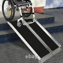 Scooter Portable De 3' En Aluminium En Fauteuil Roulant Handicap De Mobilité Médicale Seuil