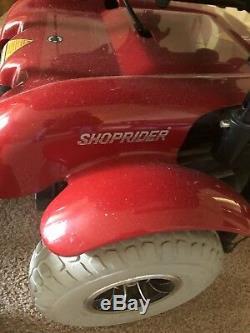 Shoprider 6runner 10 In. Fauteuil Motorisé, Mobilité, Fauteuil Roulant