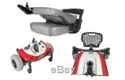 Shoprider Jimmie Powerchair Avec Siège Captain 4 Roues Motrices Arrière Léger 250lbs