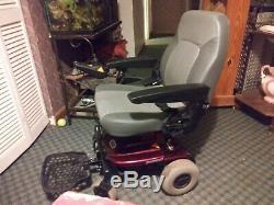 Shoprider Jimmie Powerchair Withcaptain Seat 4 Roues Motrices Arrière. Faible Nombre D'heures