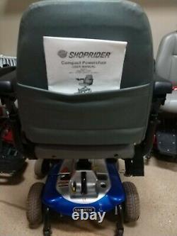 Smartie Ul8w Power Wheelchair Par Shoprider Pour Les Pièces, Travaillant Partiellement