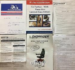 Streamer Pour Fauteuil Roulant Électrique Shoprider Medical Sport 888wa
