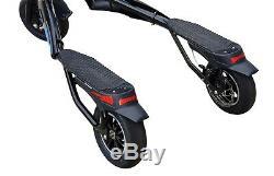 Trikke Tech Pon-e 48v Fwd Scooter (noir)