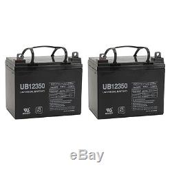 Upg Paquet De 2 Scooters Électriques U1 Pour Fauteuil Roulant, Batterie, 12 Volts, 35 Amp
