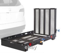 XL Chargement Ramp Fauteuil Roulant Carriermobility Scooter Remorque Électrique Attelage Sc500