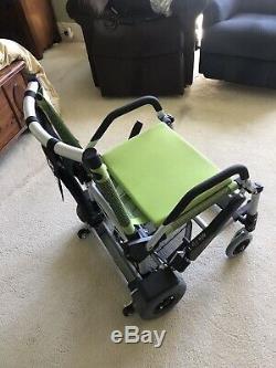 Zinger Zingerchair Vert Pliante Légère Chaise Mobilité Électrique